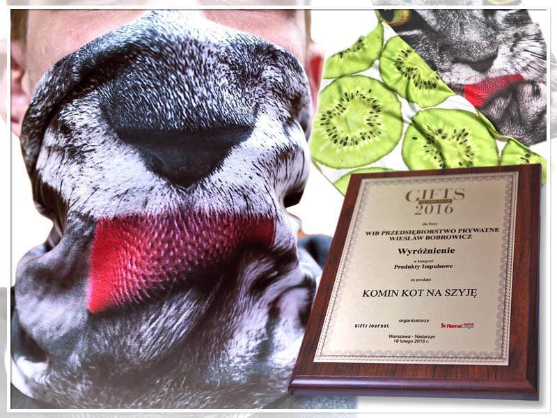 Wyróżnienie w konkursie Gift of The Year 2016