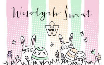 Wesołych i radosnych świąt Wielkanocnych życzy firma WIB